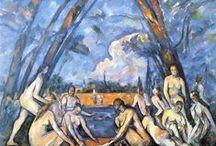 Paul Cézanne - Art / Paul Cézanne, né le 19 janvier 1839 à Aix-en-Provence, mort le 22 octobre 1906 dans la même ville, est un peintre français, membre du mouvement impressionniste, considéré comme le précurseur du cubisme. Il est l'auteur de nombreux paysages de Provence, et particulièrement de la campagne d'Aix-en-Provence. Il a notamment réalisé plusieurs toiles ayant pour sujet la montagne Sainte-Victoire.