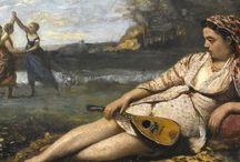 Jean-Baptiste Camille Corot - Art / Jean-Baptiste Camille Corot, né le 16 juillet 1796 à Paris et mort dans le 10e arrondissement de Paris, au 56 de la rue du Faubourg-Poissonnière, le 22 février 1875, est un peintre et graveur français.