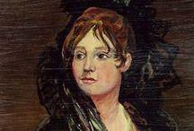 Francisco de Goya - Arte / Francisco de Goya y Lucientes (Fuendetodos, provincia de Zaragoza, 30 de marzo de 1746-Burdeos, Francia, 16 de abril de 1828)1 fue un pintor y grabador español. Su obra abarca la pintura de caballete y mural, el grabado y el dibujo. En todas estas facetas desarrolló un estilo que inaugura el Romanticismo. El arte goyesco supone, asimismo, el comienzo de la pintura contemporánea, y se considera precursor de las vanguardias pictóricas del siglo XX.