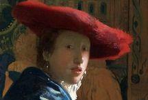 Johannes Vermeer - Art / Johannes Vermeer (gedoopt te Delft, 31 oktober 1632 - begraven aldaar, 15 december 1675) is een van de beroemdste Nederlandse kunstschilders uit de Gouden Eeuw. Hij werd in de 19e eeuw de Sfinx van Delft genoemd omdat er zo weinig details over zijn leven bekend waren. Vermeer had bovendien een voorkeur voor tijdloze, ingetogen momenten. Hij blijft raadselachtig vanwege de onnavolgbare kleurstelling en het verbijsterende lichtgehalte.