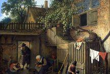 Adriaen van Ostade - Art / Adriaen van Ostade (gedoopt Haarlem, 10 december 1610 - aldaar, 28 april 1685) is één van de belangrijkste Nederlandse schilders van de gouden eeuw. Naast schilder was hij graveur en tekenaar. Van Ostade behoort tot de Hollandse School.