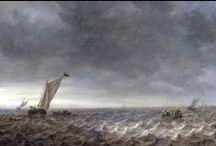 Jan van Goyen - Art / Jan Josephsz. van Goyen (Leiden, 13 januari 1596 – Den Haag, 27 april 1656) was een Nederlands landschapschilder uit de Gouden Eeuw. Van Goyen heeft veel schilderijen nagelaten van rivieren, meren, kanalen, zandwegen, duinen of strand in de omgeving van Den Haag, Rotterdam, Delft, Dordrecht, Leiden, Gouda, Rhenen, Arnhem, Nijmegen, Emmerik en Kleef. Hij schilderde regelmatig winterlandschappen, zee- en stadsgezichten, maar nooit een portret, historiestuk of stilleven.