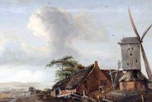 Meindert Hobbema - Art / Meindert Lubbertszoon Hobbema (gedoopt Amsterdam, 31 oktober 1638 - Amsterdam, 7 december 1709) was een Nederlandse kunstschilder van landschappen.