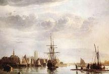 Albert Cuyp - Art / Aelbert Cuyp, ook Albert Cuyp genoemd (Dordrecht, 20 oktober 1620 - aldaar begraven op 15 november 1691) was een Nederlands schilder, tekenaar en prentmaker uit een vermaard Dordts kunstenaarsgeslacht. Hij is vooral bekend om zijn landschappen.