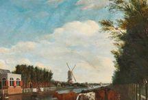 Adriaen van de Velde - Art / Adriaen van de Velde (gedoopt Amsterdam, 30 november 1636 – begraven aldaar, 21 januari 1672) was een Nederlands schilder gespecialiseerd in landschappen, strandgezichten, idyllische dierstukken, bijbelse historiestukken, en portretten. Hij verzorgde figuren in de landschappen van andere schilders.