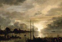 Aert van der Neer - Art / Aernout (Aert) van der Neer (1603 - Gorinchem, 9 november 1677) was een Nederlands landschapsschilder.