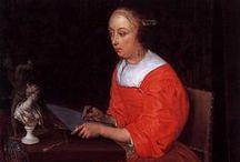 Eglon van der Neer - Art / Eglon Hendrick van der Neer (Amsterdam?, ca. 1635/6 - Düsseldorf, 3 mei 1703) was een Nederlands kunstschilder. Hij werd bekend door portretten in de stijl van Caspar Netscher, gezelschapsstukken in de stijl van Gabriël Metsu, historische, mythologische en religieuze scènes en later geromantiseerde landschappen, een thema waarmee ook zijn vader Aert van der Neer bekend werd.