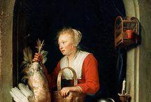 Gerrit Dou - Art / Gerrit Dou, ook Gerard Dou genoemd (Leiden, 7 april 1613 - aldaar begr., 9 februari 1675), was een Nederlandse kunstschilder.