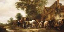 Isaac van Ostade - Art / Isaac Jansz. van Ostade (gedoopt Haarlem, 2 juni 1621 – begraven aldaar, 16 oktober 1649) was een Nederlands schilder en tekenaar behorend tot de Hollandse School.  Hij was een jongere broer en leerling van Adriaen van Ostade en was actief in Haarlem vanaf 1629. In 1643 werd hij toegelaten tot het Haarlemse Sint-Lucasgilde. Van Van Ostade zijn zo'n 100 schilderijen bekend, waaronder voornamelijk genrestukken, landschappen en portretten.