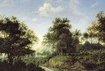 Jan van der Heyden - Art / Jan van der Heyden (Gorinchem, 5 maart 1637 - Amsterdam, 28 maart 1712) was een Noord-Nederlands schilder, tekenaar, etser en uitvinder. Hij is vooral bekend vanwege zijn vele stadsgezichten en als uitvinder van een verbeterde brandspuit en straatlantaarn.