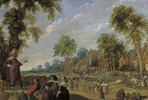 Jan Wijnants - Art / Jan Jansz. Wijnants (Haarlem 1632 – Amsterdam, 23 januari 1684) was een Nederlands schilder, tekenaar en decoratieschilder van interieurs.