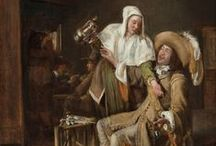 Pieter de Hooch - Art / Pieter de Hooch (Rotterdam, 20 november 1629 - 24 maart 1684 in het Dolhuis te Amsterdam) is een Nederlandse kunstschilder. Zijn naam wordt ook wel geschreven als Pieter de Hoogh, Pieter de Hooghe en Pieter Hendricksz. de Hooch.