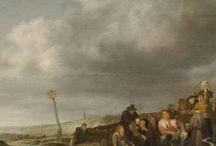 Simon de Vlieger - Art / Simon Jacobsz. de Vlieger (ca. 1601-1653) was een Nederlands kunstschilder. Hij is vooral bekend vanwege zijn marines of zeegezichten, maar naast deze maritieme stukken creëerde hij ook strandtaferelen en landschappen, en heel zelden een portret.