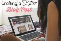 Blogging Tips / Blogging tips, articles and resources for professional bloggers or blogging for fun.