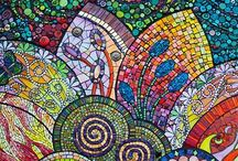 Mosaics - Colorfull / Different ways to make a nice colorful picture