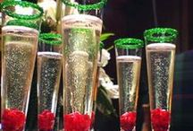 Hols & Bols / Champagne and holiday party ideas