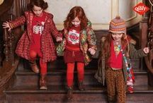 Children's Wear F/W 2013 / If Oilily were to organize an expedition, our voyage of discovery would take us to the snow-capped splendours of the North Pole. Once we'd finished gawping at the polar bears and a stray arctic fox, we'd start digging a tunnel. A tunnel so deep and so long that it cuts right through the ice and the Earth's layers, taking us past the most fantastic underwater fossils, mysterious creatures and flowerbeds that we didn't even know existed.