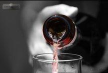 Wines & Wines / Amo sulla tavola, quando si conversa, la luce di una bottiglia di intelligente vino.  Pablo Neruda / by Cuore di Sedano