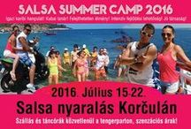 Salsa Summer Camp / Salsa Summer Camp, Korcula (Croatia) Salsa Nyári Tábor, Korcula