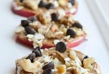 Healthy Snack Ideas / Getting that midday hunger pang? Treat yourself to any of these guilt free snacks!