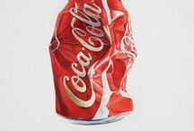 """Coca Cola / """"Whenever there is fun, there's always Coca Cola""""  My favorite brand which is more than 100 years old ... It is the source of happiness all around the world ♥♥   /lnemnyi/lilllyy66/ Find more inspiration here: http://weheartit.com/nemenyilili/collections/22263692-coca-cola"""