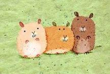 Hamster ilustrations / Jaq