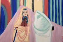Peintures de Sonia Dakhlaoui / La Tunisie la belle tunisie