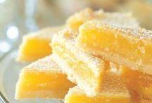 Lemon-ish desserts