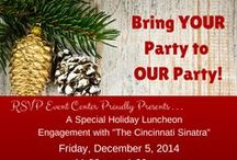 Holidays / Holiday events at RSVP Event Center, Holidays in Cincinnati, Holiday Party ideas, holiday party games