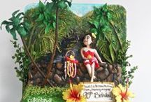 cakelava | Hawaii cakes  / Cakes with a Hawaiian theme designed by Rick Reichart