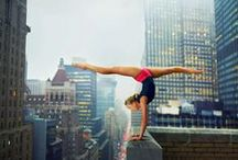 #AnythingGymnastics / What's life without a little grace. ; ) / by Hannah Peterson