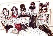 Fashion illustrations / by Alice N Lee