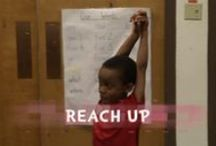 Get Students Moving / Short lessons that incorporate physical activity. Videos include links to lesson plans. All activities less than 10 minutes long and work great as transitions between subjects/lessons.