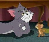 Tom y Jerry / Tom y Jerry (Tom and Jerry en inglés) son dos personajes animados, un gato (Tom) y un ratón (Jerry), que protagonizaron un gran número de cortometrajes, creados, escritos y dirigidos por William Hanna y Joseph Barbera (anterior a la fama de Hanna-Barbera).