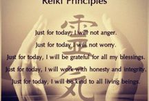 """Reiki / """"Reiki literally walks up our divine essence so we can see our spirit behind the veils."""""""