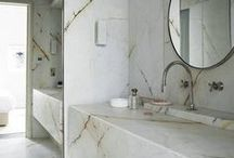 BATH inspiration / beautiful found bathrooms and powder rooms!
