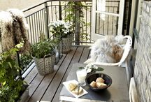 moving in - balcony ideas
