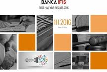 "Banca IFIS Consolidated Interim Results First Half 2016 / ""The Banca IFIS Group has been growing for several years now, and continued to grow also in the first half of the year across all segments"", said Giovanni Bossi, Banca IFIS CEO."