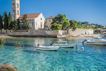 Croatia travel / This board features my favorite places to travel in Croatia. I love to travel around the coast, but also in lesser known regions of Croatia.