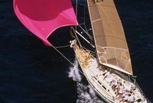 Sailing / I love sailing: the wind in your hair and the feeling that you can go wherever you want to