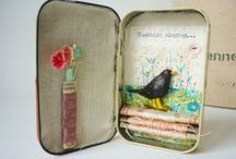 Altered Tins / Amazing altered tins.
