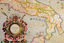 ツ Old MAPS [Explore with Me] / The knowledge of the ancient explorers in their quest to conquer the limits of Earth was written in old cartographic documents like these.