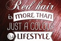 RED HAIR / For the love of red heads everywhere.