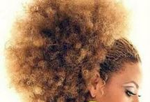 Natural Hair / styles for ethnic hair