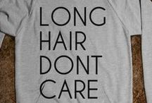 LONG HAIR / Long hair styles.