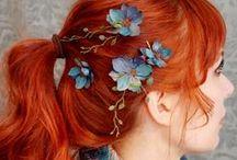 Hairstyles / Прически, локоны, мастер-классы. Просто красота.