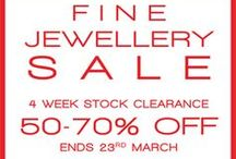 Fine Jewellery Sale 50-70% off / 50 - 70% off Sale Now On at Heming!!!! Sale items are selections from: Heming Collection engagement rings, wedding band & branded collections, antique & cocktail watches.    If you have ever thought about diamond investment, now is the time. Everything MUST go in our 2014 stock clearance sale.  ENDS 23RD OF MARCH 2014