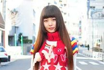High school of fashion in Tokyo / FASHION JAPAN : Japanese school girl in Harajuku