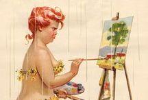 desenhando mulheres