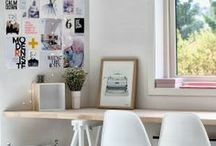 Home - Office and Crafts Room / How I want my future home office to look like